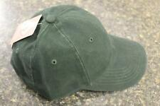 NEW Dri Duck CoolMax Forest Green Low Profile Cotton Twill Hat Cap One Size