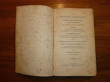 Antique Book 1845 Medical Text Comfort's Thomsonian Practice