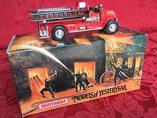 Matchbox Models of Yesteryear 1920 Mack AC Fire Engine