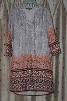 LAURA ASHLEY Ladies Floral Tunic Length Top ~ Size 10