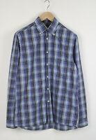 GANT COAST POPLIN REGULAR FIT Men's SMALL Button Down Casual Shirt 22190-JS