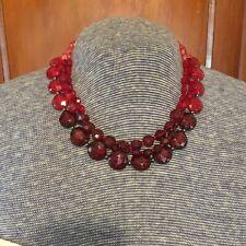 VINTAGE Red & Pink Necklace