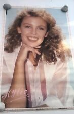 KYLIE MINOGUE  glossy Personality Poster from 1989 size: 35 x 23 inches