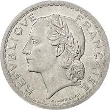 [#75335] Gouvernement Provisoire, 5 Francs Lavrillier 1945, KM 888b.1