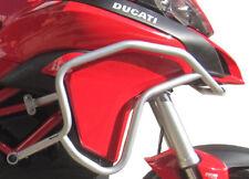 Defensa protector de motor Heed Ducati Multistrada 1200/950 (15 - ) plata+Bolsas
