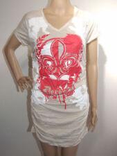 Cotton Blend Regular Size T-Shirts Dresses for Women