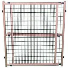 North States 4614 Wire Mesh Pet Gate Extra Wide Expandable