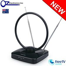 Greentek Digital HD TV indoor Active Amplified Antenna UHF VHF FM AUSTRALIA NEW