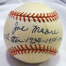 "Jo-Jo ""Joe"" Moore dec. PSA/DNA AS Autographed Baseball 1933 New York Giants"