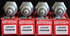 4X Brisk LR12ZC Zündkerze Fiat Croma Daily Strada Tempra Tipo Ford Cortina MK1