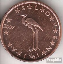 Slovenië SLO 1 2007 Stgl./ongecirculeerd 2007 Kursmünze 1 Cent