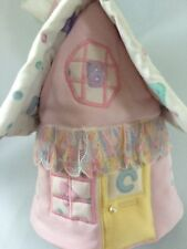 Handmade Baby Girl Embroidered Tissue House Decor Gift / Present Vintage Style