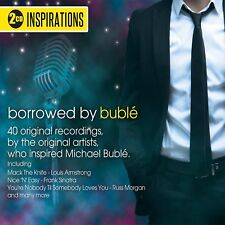 Inspirations: Borrowed by Buble - 2 x CD Set - Various Artists - BRAND NEW