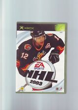 NHL 2003 - ICE HOCKEY MICROSOFT XBOX GAME - FAST POST - ORIGINAL & COMPLETE