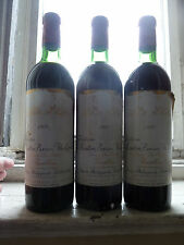 Chateau Mouton 1970 Grand Cru (3 Bottles)