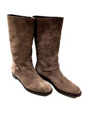 Bottes femme Cuir Taupe Fratelli Rossetti Taille 40.5 FR/ 8 US