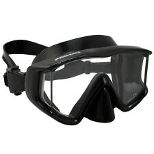 NEW Promate Panoramic Tri-View Mask Scuba Dive Mask Snorkeling Mask Gear