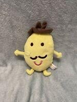 Mr Potato - Peppa Pig Soft Toy Plush **Very Rare** - 6inch - Limelight