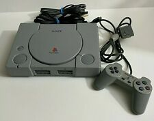 🔥Sony PlayStation 1 One Original Video Game Console W/ 1 Controller WORKS GREAT