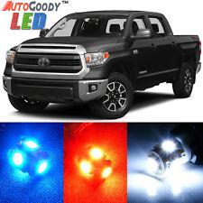 14 x Premium Xenon White LED Lights Interior Package Kit for Toyota Tundra +Tool