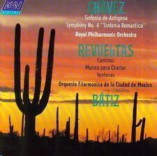 NEW= Chavez Sinfonia De Antigona Romantica Revueltas Batiz CD