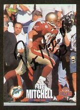 Pete Mitchell signed autographed Football Card B.C.