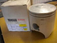 NOS Yamaha OEM 3rd O/S Piston 0.75 1985-1987 YZ250 1LU-11637-01