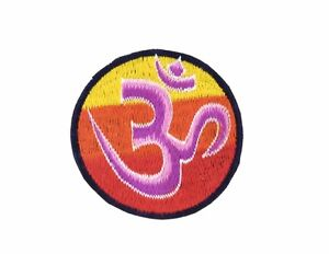 Patch Ricamata Patch Buddismo Mandala Om Aum Badge 42
