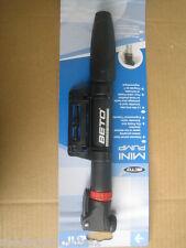 BETO Mini Bike Cycle Pump Presta / Schrader + bracket