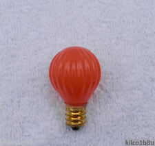 Pumpkin Light Bulb for Welcome Candle Lamps 7w, E12 (Candelabra)