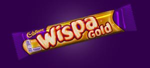 Cadbury Wispa Gold Caramel Multipack Bars 20/40 x 41g Bars Best Before 22/12/21