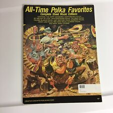 All Time Polka Favorites Complete Sheet Music Lyrics 18 Songs Various Authors