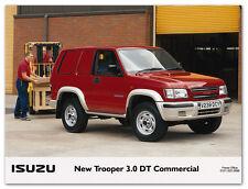 Isuzu Trooper 3.0 DT Commercial Press Release Photograph