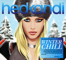 Hed Kandi 'Winter Chill' 2xCD - Brand New Sealed - House, Nu Disco, Dance Music