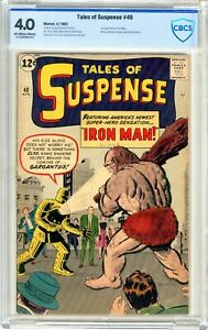 Tales of Suspense # 40  CBCS  4.0  VG  Off white to wht pgs  4/63  2nd App. of I