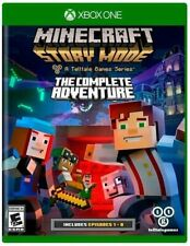 Minecraft: Story Mode The Complete Adventure Xbox ONE DIGITAL GAME KEY