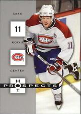 2005-06 Hot Prospects Canadiens Hockey Card #52 Saku Koivu