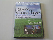 A GOOD GOODBYE-FUNERAL PLANNING-REGION 1-U.S. AND CANADA- 4 DVD SET-SEALED NEW-