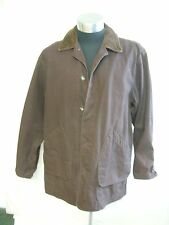 "Mens Jacket Land's End, brown cotton, size L, chest 42-44"", length 33"", 1748"