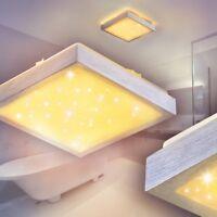 Lampada Stanza da Bagno Luce LED Stelle Illuminazione quadrata Plafoniera IP44