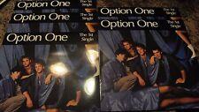 Option One The 1st Unique 30.5cm scellé 5 LP Lot Boston Neuf VAGUE AOR g3168