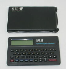 SII Seiko Instruments Pocket Spanish English Translator TR-2200 With Case R11557