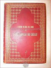 LEGATURA: Insigne Reliquia Cuore di SAN CAMILLO DE LELLIS 1914 Fiesole Ritratti