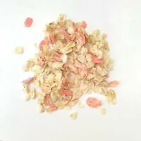 Biodegradable Dried Petal Wedding Throwing Confetti 1L Ivory Flutterfall Pink