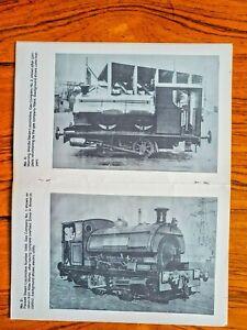 The Southport Gas Company Locomotives