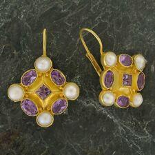 Magellan Amethyst and Pearl Earrings: Museum of Jewelry