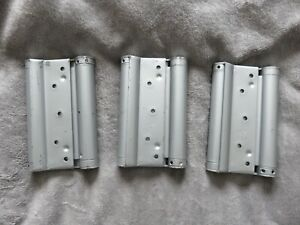 """3x Liobex Liob LDA06 150mm 6"""" Double Action Spring Hinges"""