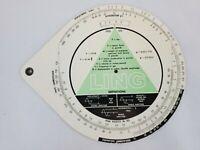 Vintage Ling Electronics Circular Slide Rule LTV Altec Inc. USA
