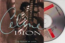 CD CARDSLEEVE CELINE DION THE POWER OF LOVE 2T DE 1993 TBE