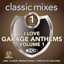 DMC Classic Mixes I Love Garage Anthems Megamixes & Remixes Music CD